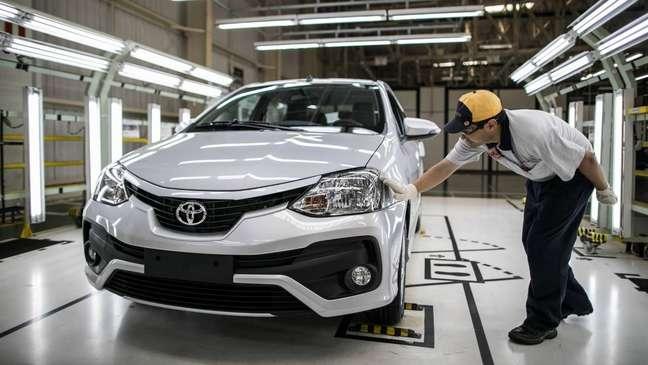 """Toyota defende uma """"agenda de competitividade"""" para criar condições que favoreçam a produção local."""