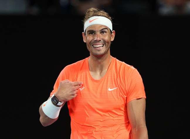 Rafael Nadal se surpreende com reação de torcedora