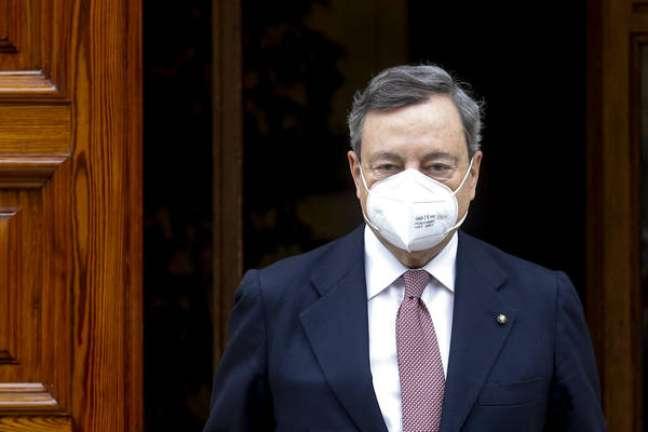 Draghi tornou-se o novo premiê da Itália neste sábado
