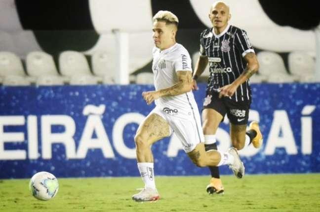 Soteldo entrou no segundo tempo e acabou com o Corinthians