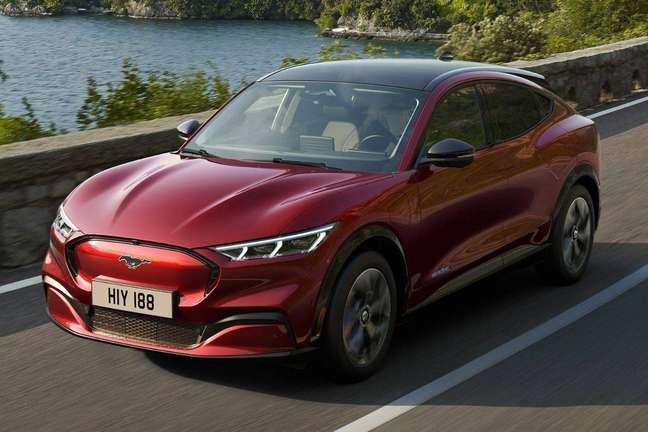 Ford Mustang Mach-E: SUV elétrico do Mustang ainda não tem previsão de chegar ao Brasil.