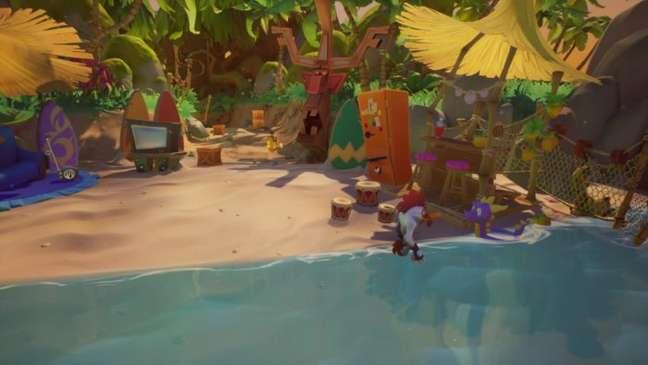 Não é um crossover, mas Spyro marcou presença em Crash Bandicoot