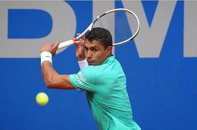 Thiago Monteiro vai jogar em Wimbledon pela terceira vez