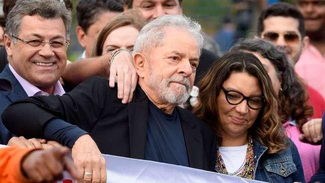 Lula foi solto em novembro de 2019, após 580 dias preso