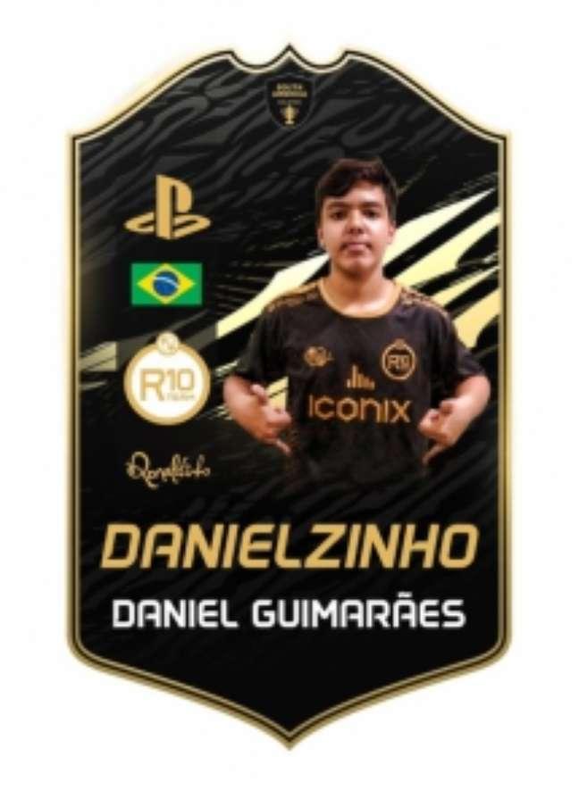 Danielzinho assinou o contrato mais longo do cenário do futebol virtual nacional