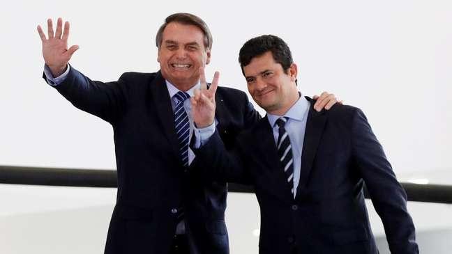 Bolsonaro fez de Sergio Moro seu Ministro da Justiça