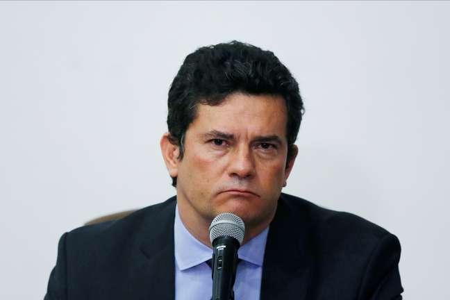 Ex-ministro Sérgio Moro 24/04/2020 REUTERS/Ueslei Marcelino