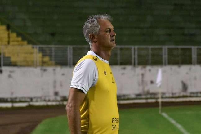 O técnico Lisca provocou após a classificação do América-MG Foto: Divulgação/América-MG)