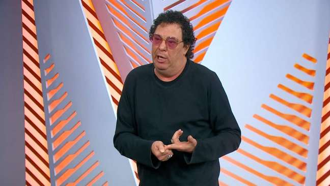 Casagrande sempre tem uma sacada para acrescentar durante as transmissões da Globo