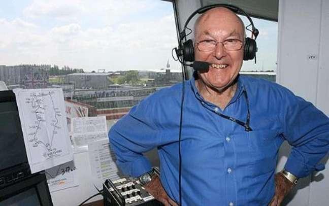 Murray Walker fez história ao narrar os principais acontecimentos da F1