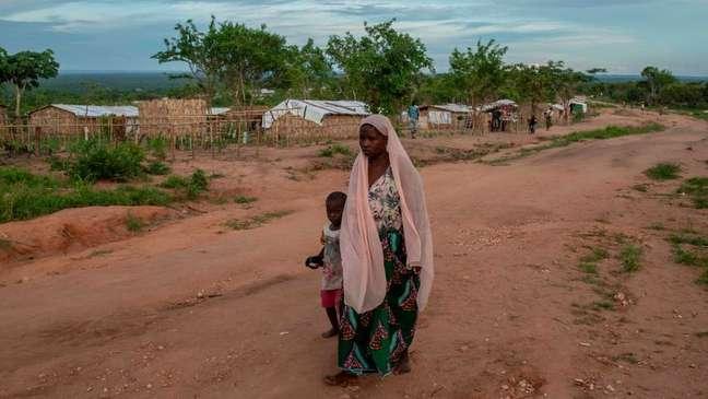 Milhares em Cabo Delgado foram forçados a fugir de suas casas