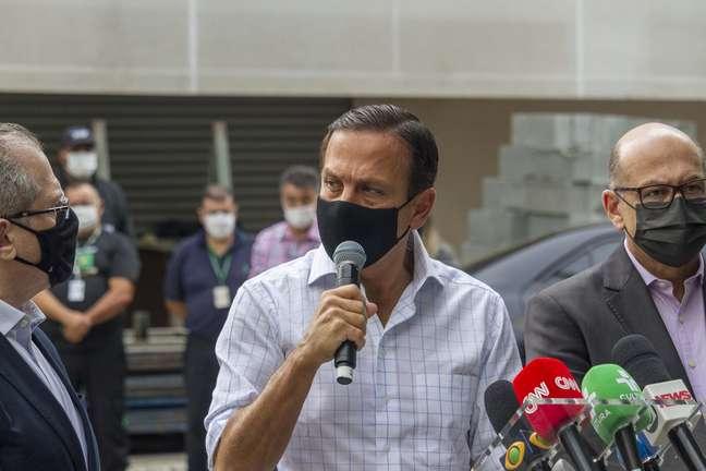 Doria diz que governo negocia novos contratos de oxigênio adicional para hospital