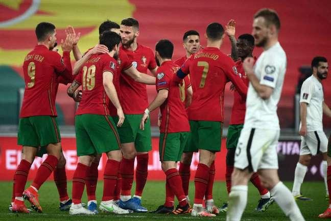 Portugal garante os três primeiros pontos nas Eliminatórias Europeias (Foto: MARCO BERTORELLO / AFP)