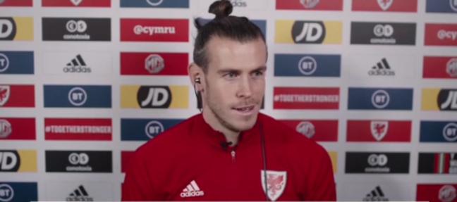 Bale tem sonho de jogar Copa do Mundo com Gales (Foto: Reprodução)