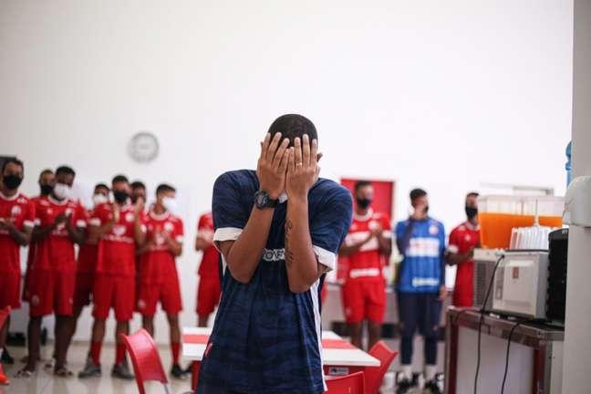 Profissional recebeu apoio maciço de jogadores dos três clubes grandes de PE (Tiago Caldas/CNC)