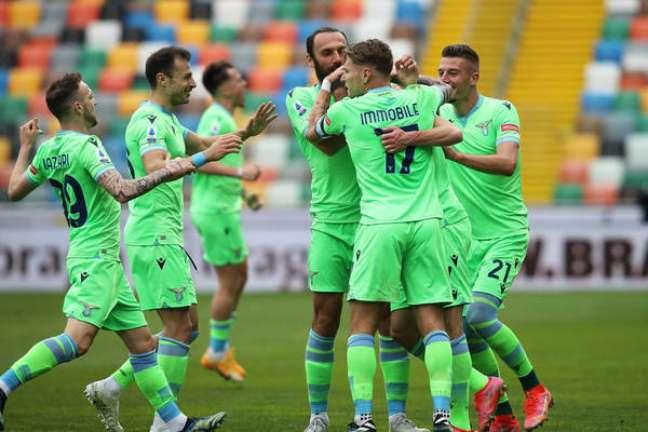 Lazio usou uniforme verde nesta temporada do Campeonato Italiano