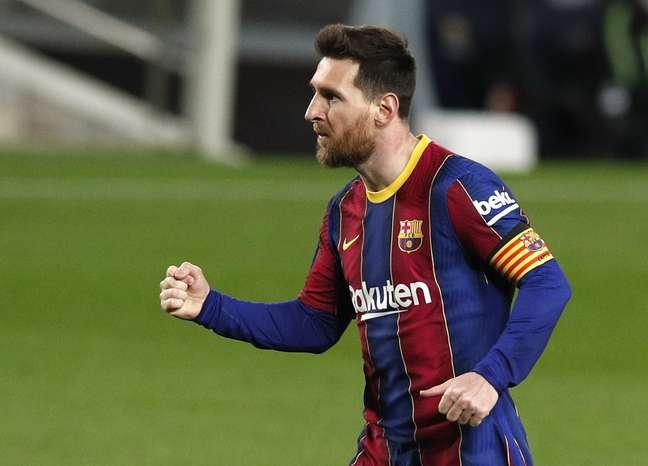 Lionel Messi começou o ano em grande fase