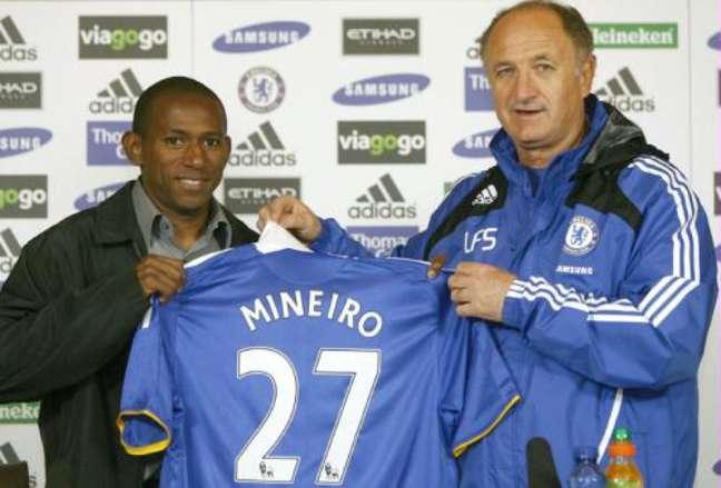 Felipão chegou ao Chelsea em 2008, mas ficou apenas sete meses (Foto: Divulgação / Chelsea)