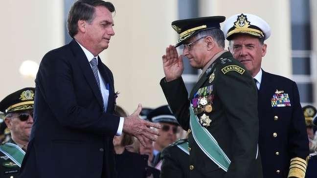 Foi noticiado que havia uma insatisfação de Bolsonaro especialmente com Pujol
