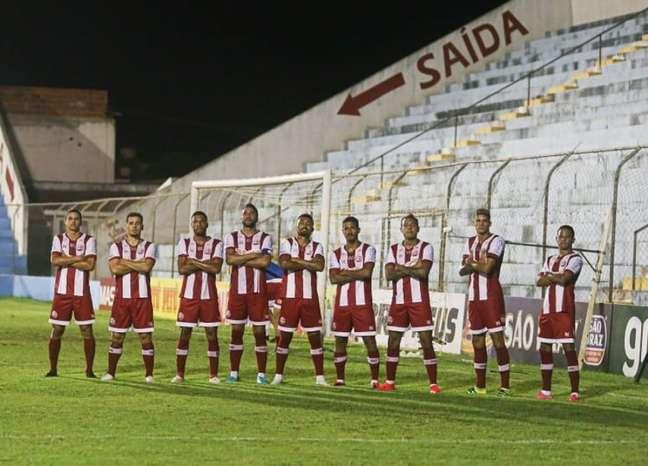 Partida entre as equipes foi realizada no interior de PE (Thiago Caldas/CNC)