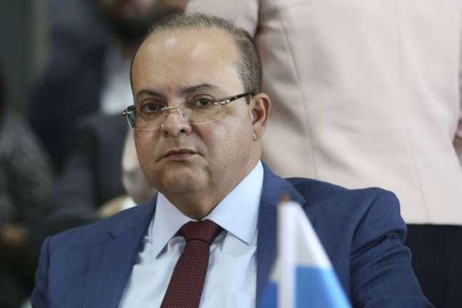 O governador do Distrito Federal, Ibaneis Rocha