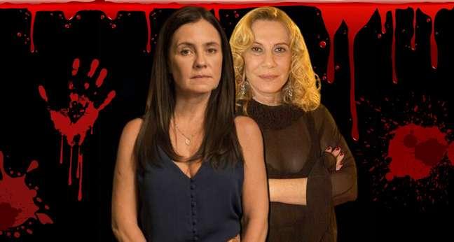 A gélida Thelma e a escandalosa Nazaré: as vilãs sempre roubam a cena