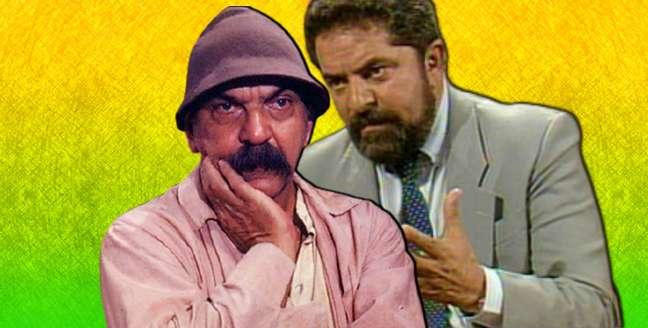 """O bordão """"Ieu? Éieu?"""" ganhou o Brasil:SassáMutemafoi visto como a versão novelesca de Lula"""