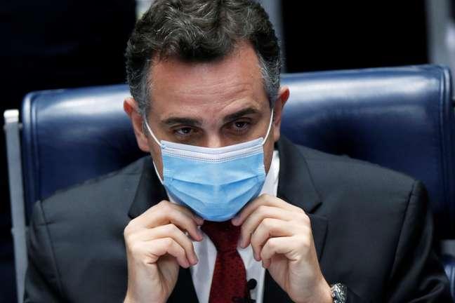 Presidente do Senado, Rodrigo Pacheco 02/02/2021 REUTERS/Adriano Machado