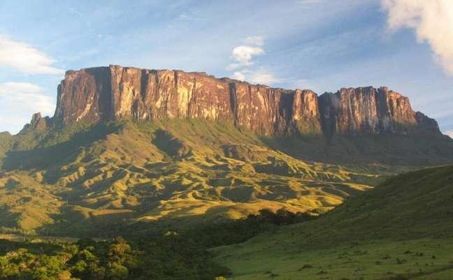 O Monte Roraima apareceu em destaque no primeiro capítulo de 'Império', reexibida no horário nobre da Globo