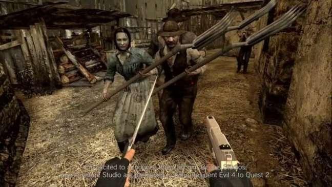Resident Evil 4 chega às plataformas VR