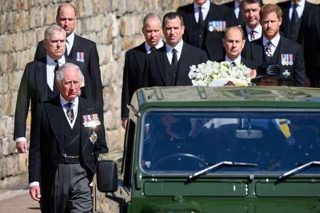 Funeral do príncipe Philip em Windsor 17/04/2021 Leon Neal/REUTERS