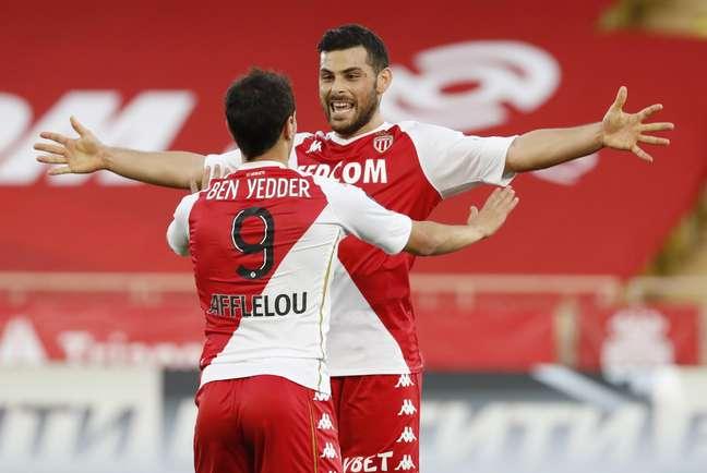 Wissam Ben Yedder e Kevin Volland marcaram os dois gols do Mônaco