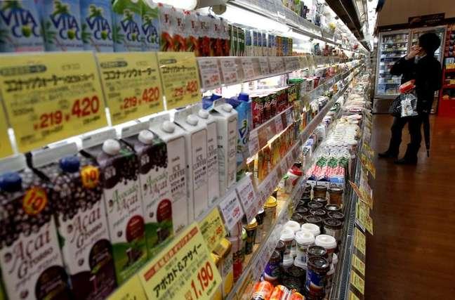 Supermercado em Tóquio. REUTERS/Yuya Shino/File Photo