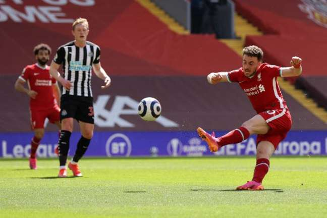 Liverpool desperdiçou muitas oportunidades durante a partida (DAVID KLEIN / POOL / AFP)