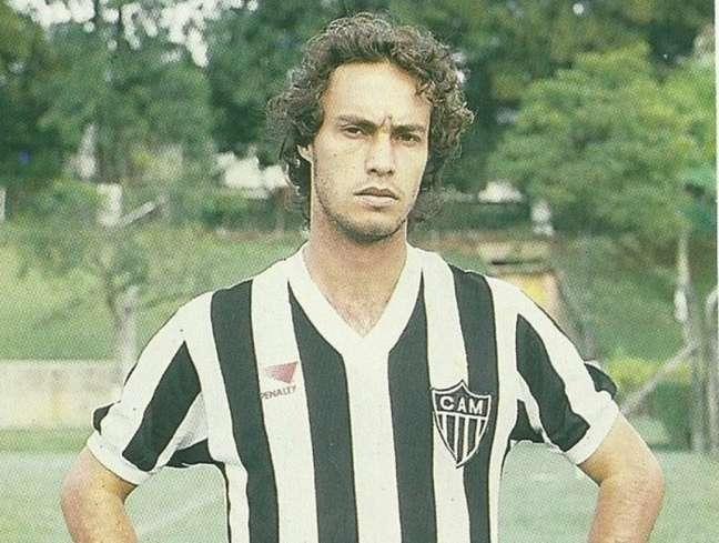 Vander Luiz marcou 7 gols com a camisa do Atlético Mineiro (Reprodução/Instagram)