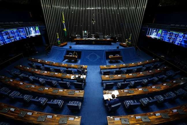 O projeto é de autoria do senador Wellington Fagundes (PL-MT), relator da comissão de acompanhamento da covid-19 no Senado