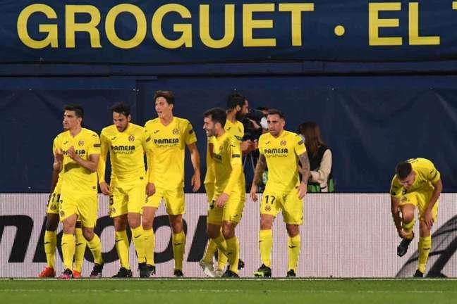 Villarreal está perto de conquistar vaga na final da Liga Europa (Foto: JOSE JORDAN / AFP)
