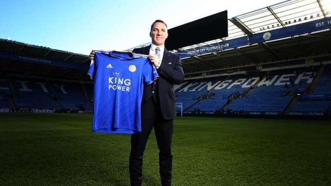 Brendan Rodgers quer continuar no Leicester (Foto: Divulgação)