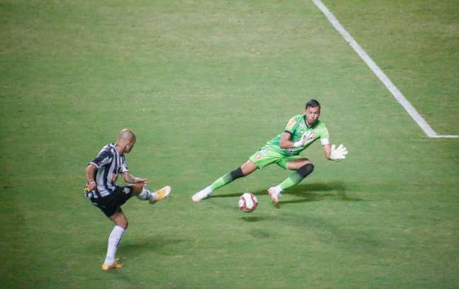 Diego Tardelli na Partida entre Atlético-MG e Tombense