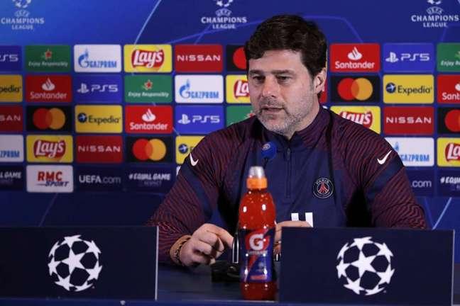 Pochettino ainda não sabe se Mbappé jogará (Foto: Divulgação / Site oficial do PSG)