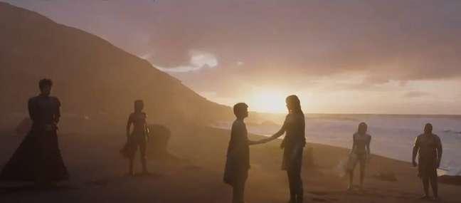 Cena de 'Eternals' antecipada pela Marvel