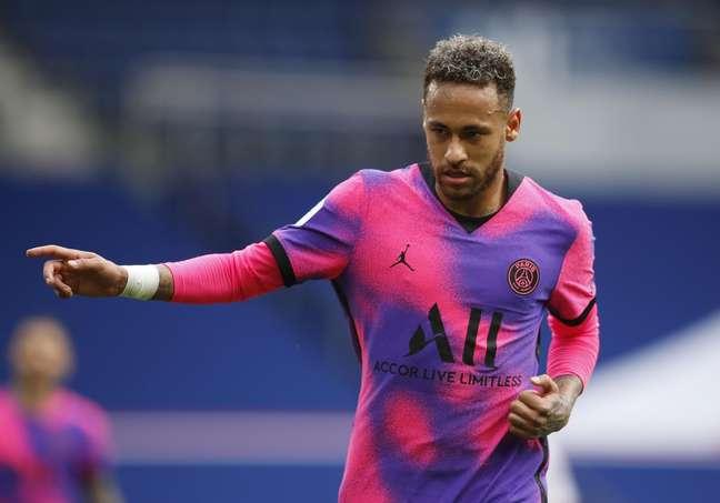 Neymar não faz um gol pelo PSG há mais de quatro meses