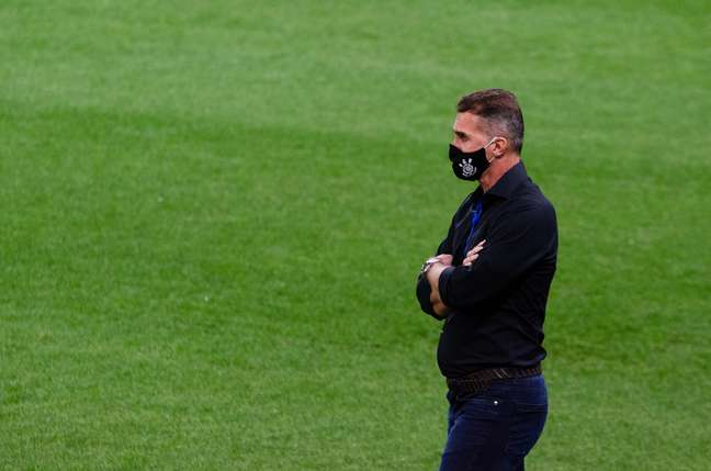 Vagner Mancini tem um bom relacionamento com o elenco do Corinthians