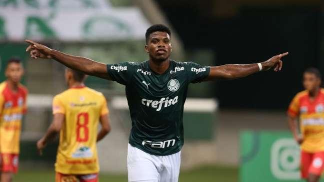 Equipe do Palmeiras venceu o Presidente Médici na primeira fase (Foto: Fabio Menotti)