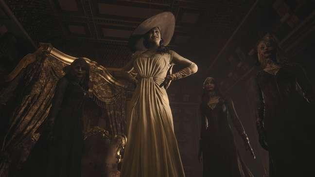 Lady Dimitrescu é a vilã mais conhecida de Resident Evil Village