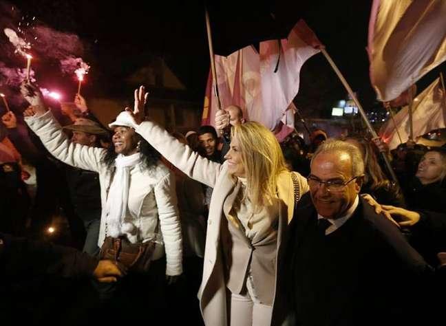 Cida Borghetti é governadora do Paraná e tenta a reeleição