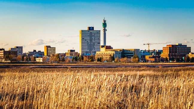 Moncton é a maior cidade da província de New Brunswick
