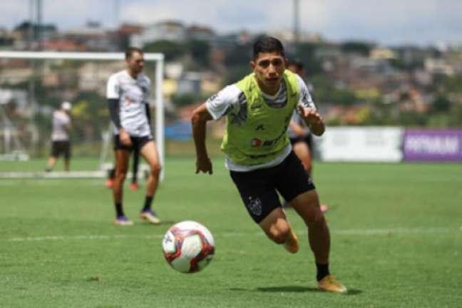 Atacante Savarino passou a ser dúvida no Atlético-MG (Pedro Souza/Atlético-MG)