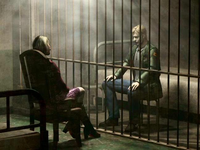 James e Maria em Silent Hill 2.