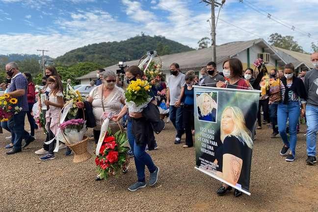 Funeral coletivo das vítimas do ataque à escola infantil Aquarela